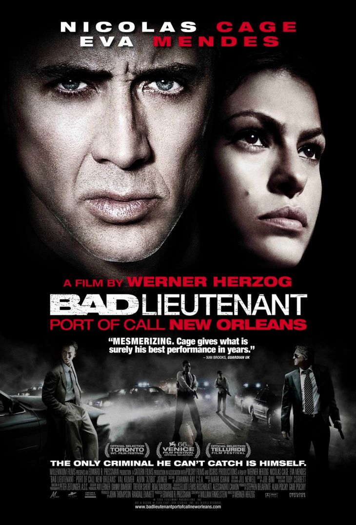 Bad lieutenant. Port of call: New Orleans